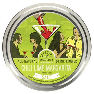 The Spice Lab, Chili Lime Margarita Salt, 3.5 oz (99 g)
