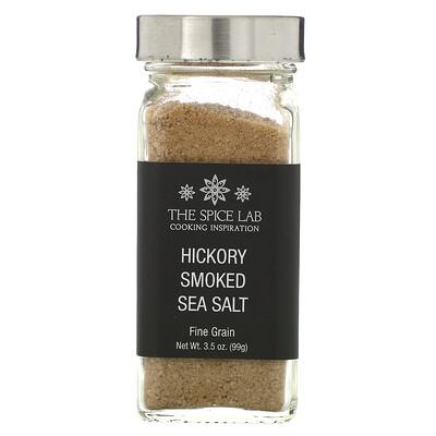 Купить The Spice Lab Hickory Smoked Sea Salt, Fine Grain, 3.5 oz (99 g)