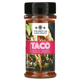 The Spice Lab, All-Natural Taco Seasoning, 5 oz (141 g)