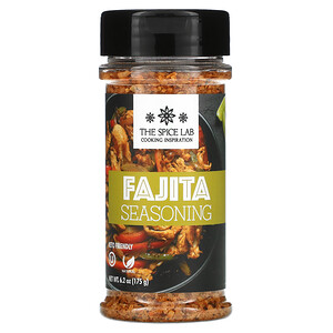The Spice Lab, Fajita Seasoning, 6.2 oz  (175 g)'