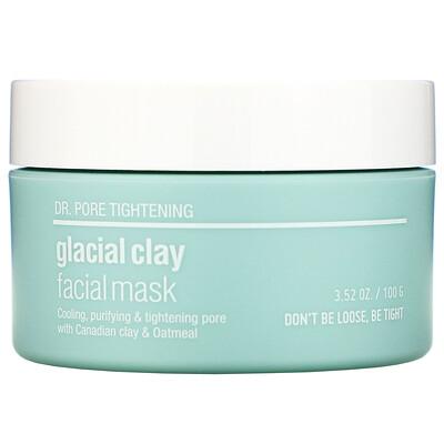 Купить Skin&Lab Серия Dr. Pore Tightening, маска для лица с ледниковой глиной, 100г