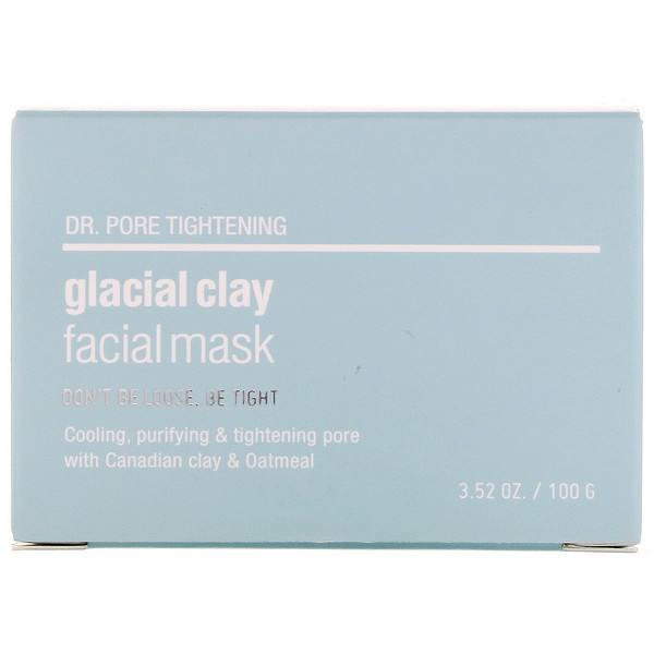 Skin&Lab, Dr. Pore Tightening, Glacial Clay Facial Mask, 3.52 oz (100 g)