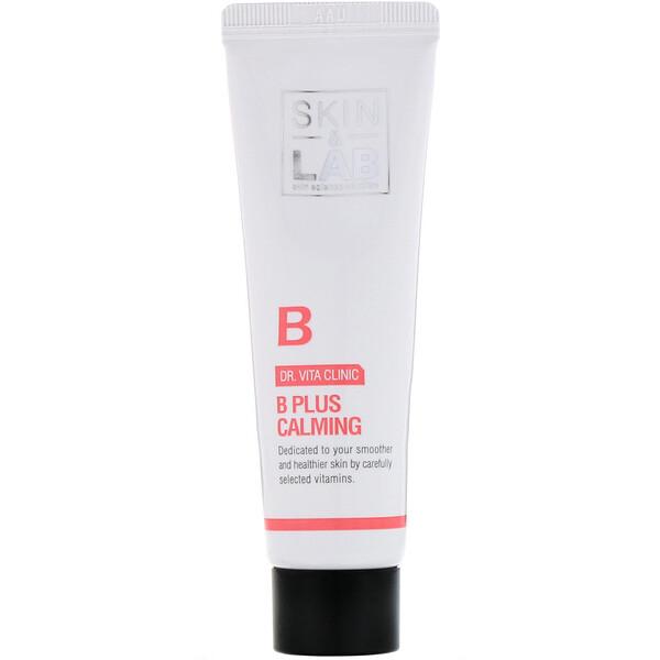 Skin&Lab, Dr. Vita Clinic, B Plus Calming Cream, Vitamin B, 30 ml