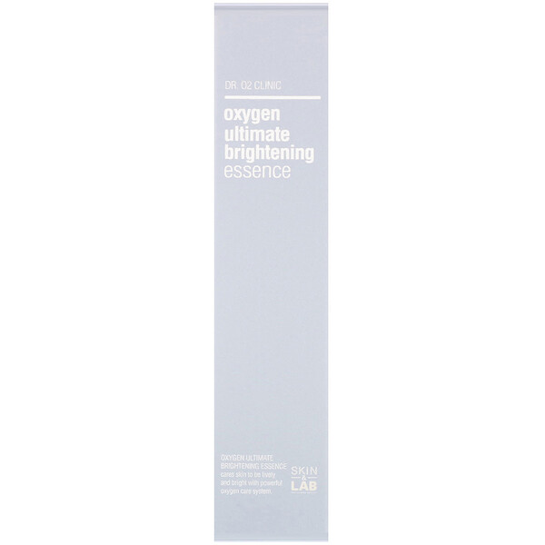 Skin&Lab, Dr. O2 Clinic, Oxygen Ultimate Brightening Essence, 50 ml (Discontinued Item)