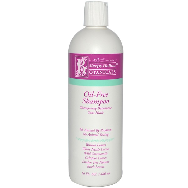 Sleepy Hollow Botanicals, Oil-Free Shampoo, 16 fl oz (480 ml) (Discontinued Item)