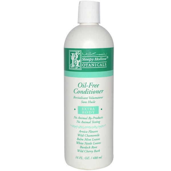Sleepy Hollow Botanicals, Oil-Free Conditioner, Extra Body, 16 fl oz (480 ml) (Discontinued Item)