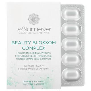 Solumeve, 舒顏精萃化合物,皮膚水合作用與膠原蛋白生成,30 粒素食膠囊