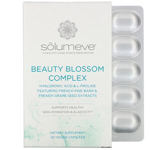 Solumeve, Beauty Blossom Complex, Skin Hydration & Collagen Production, 30 Veggie Capsules отзывы покупателей