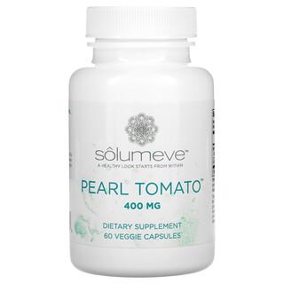 Solumeve, 珍珠番茄,健康肌膚支持,400 毫克,60 粒素食膠囊