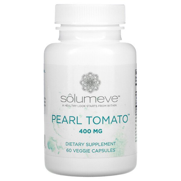 Pearl Tomato, Healthy Skin Support, 400 mg, 60 Veggie Capsules