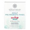 Solumeve, Adult Pre-Probiotic Pixies, Blackberry Flavor, 10 Billion CFUs, 30 Stickpacks, 0.11 oz (3 g) Each