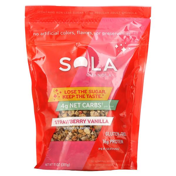 Sola, Granola, Strawberry Vanilla, 11 oz (311 g)