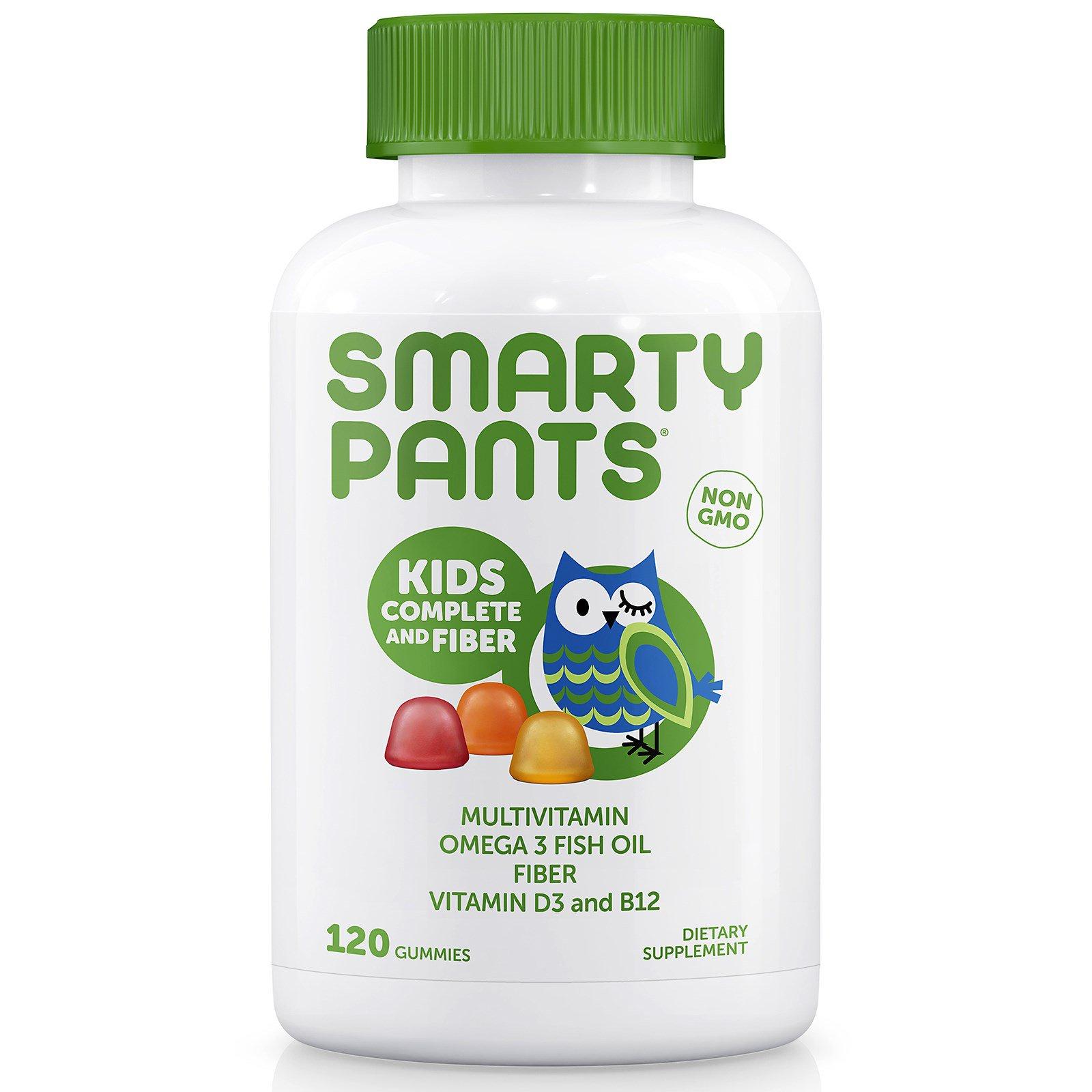 SmartyPants, Kids Complete and Fiber , 120 жевательных конфет