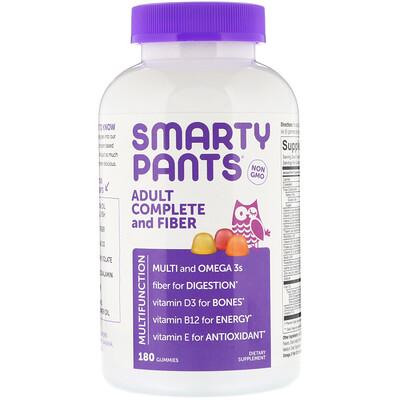 Купить Комплекс для взрослых с клетчаткой, 180жевательных таблеток