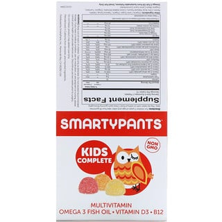 SmartyPants, Kids Complete Multivitamin, 15 Packets
