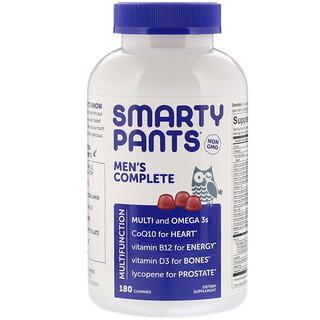 SmartyPants, メンズコンプリート、グミ180粒