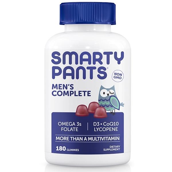 SmartyPants, Men's Complete,180粒軟糖