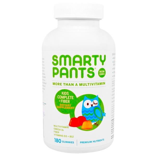 SmartyPants, Kids Complete Fiber Multivitamin, 180 Gummies (Discontinued Item)