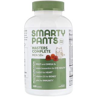 SmartyPants, Masters Complete Men 50+, 120 Gummies