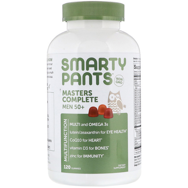 SmartyPants, Masters Complete Men 50+, 120 Gummies (Discontinued Item)