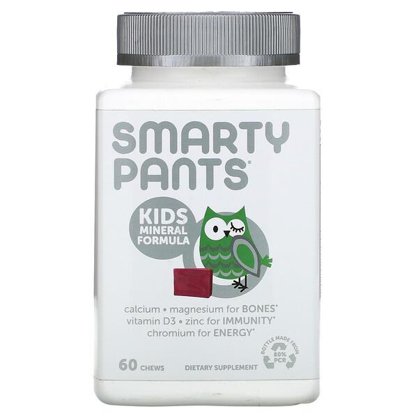 Kids Mineral Formula, Mixed Berry, 60 Chews