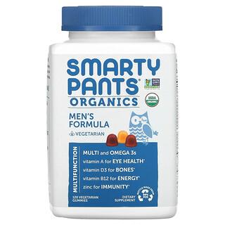 SmartyPants, Organics,男性配方,120 粒素食软糖