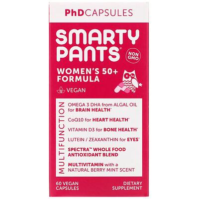 Купить SmartyPants Women's 50+ Formula, 60 Vegan Capsules