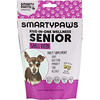 SmartyPants, SmartyPaws, Five-In-One Wellness, Senior, Small Breed , 60 Soft Chews