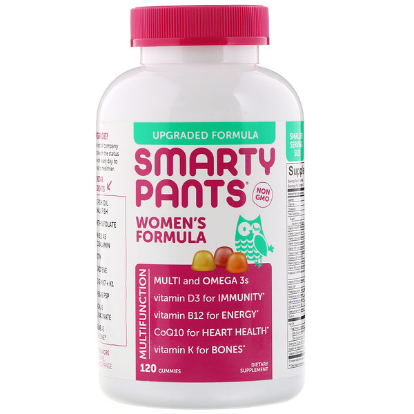 SmartyPants, Women's Formula, 120 Gummies (Discontinued Item)