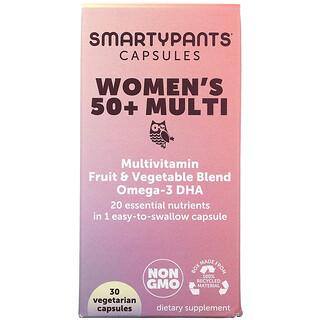 SmartyPants, Women's 50+ Multi, 30 Vegetarian Capsules