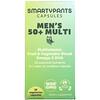 SmartyPants, Mens 50+ Multi, 30 Vegetarian Capsules