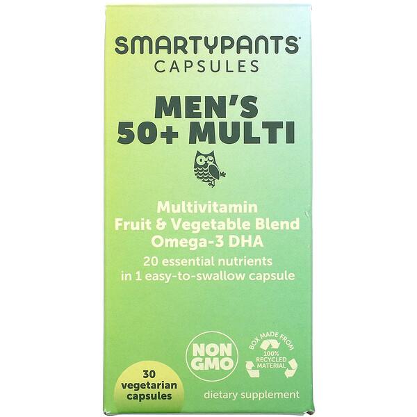Mens 50+ Multi, 30 Vegetarian Capsules