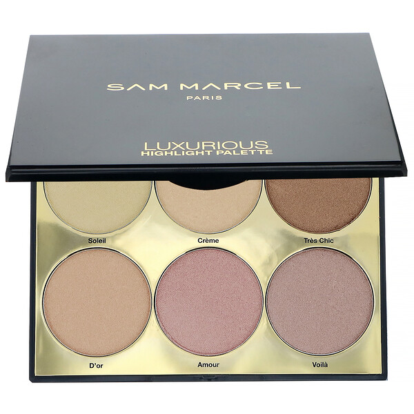 Sam Marcel, Luxurious Highlight Palette, 0.63 oz (18 g) (Discontinued Item)
