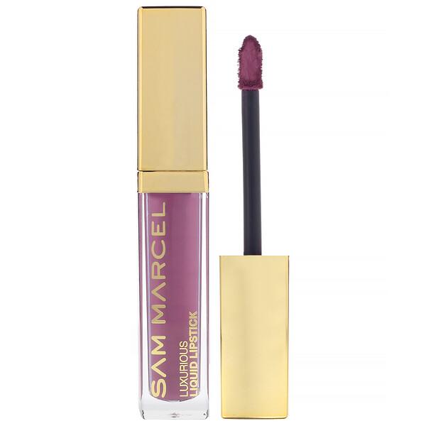 Sam Marcel, Lápiz de labios líquido, lujoso, Chloe, 5,50ml (0,185oz.líq.) (Discontinued Item)