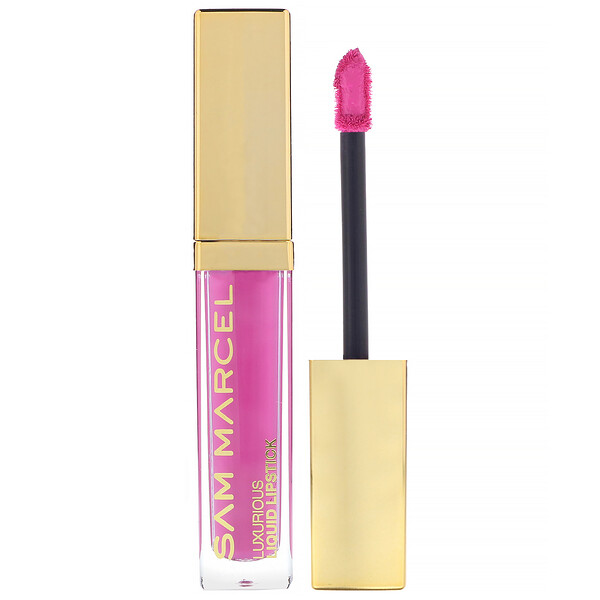 Sam Marcel, Luxurious Liquid Lipstick, Rose, 0.185 fl oz (5.50 ml)