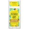 Schmidt's, Natural Deodorant, Patchouli + Hops, 3.25 oz (92 g)