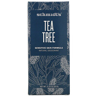 Schmidt's Naturals, Natural Deodorant, Sensitive Skin Formula, Tea Tree, 3.25 oz (92 g)