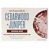 Schmidt's Naturals, Natural Soap, Cedarwood + Juniper, 5 oz (142 g)