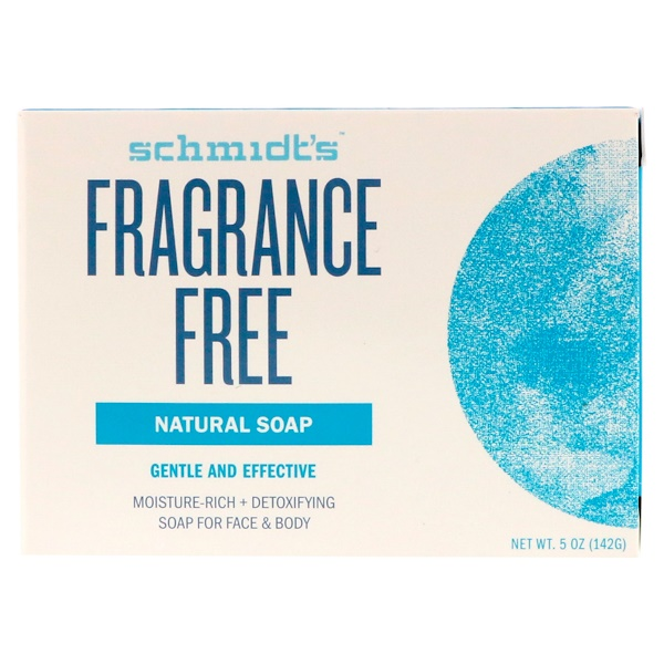 Schmidt's Naturals, Natural Soap, Fragrance Free, 5 oz (142 g)