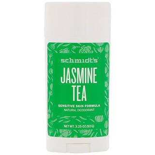 Schmidt's, Для чувствительной кожи, жасминовый чай, 3,25 унц. (92 г)