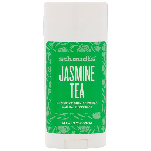 Natural Deodorant, Sensitive Skin Formula, Jasmine Tea, 3.25 oz (92 g)