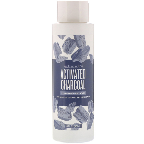 Plant-Based Body Wash, Activated Charcoal, 16 fl oz (473 ml)