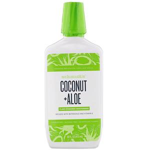 Schmidt's, Plant-Powered Mouthwash, Coconut + Aloe, 16 fl oz (473 ml) отзывы
