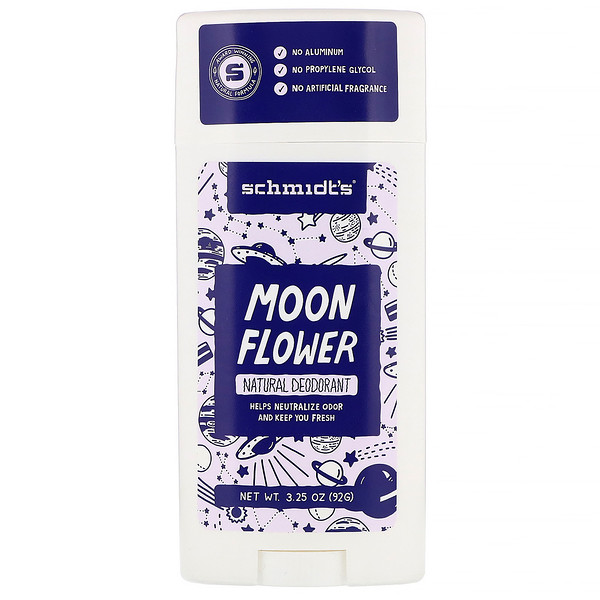 Schmidt's, Natural Deodorant, Moon Flower, 3.25 oz (92 g)