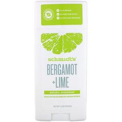 Schmidt's Naturals, Bergamote et citron vert, 92 g (3,25 oz)