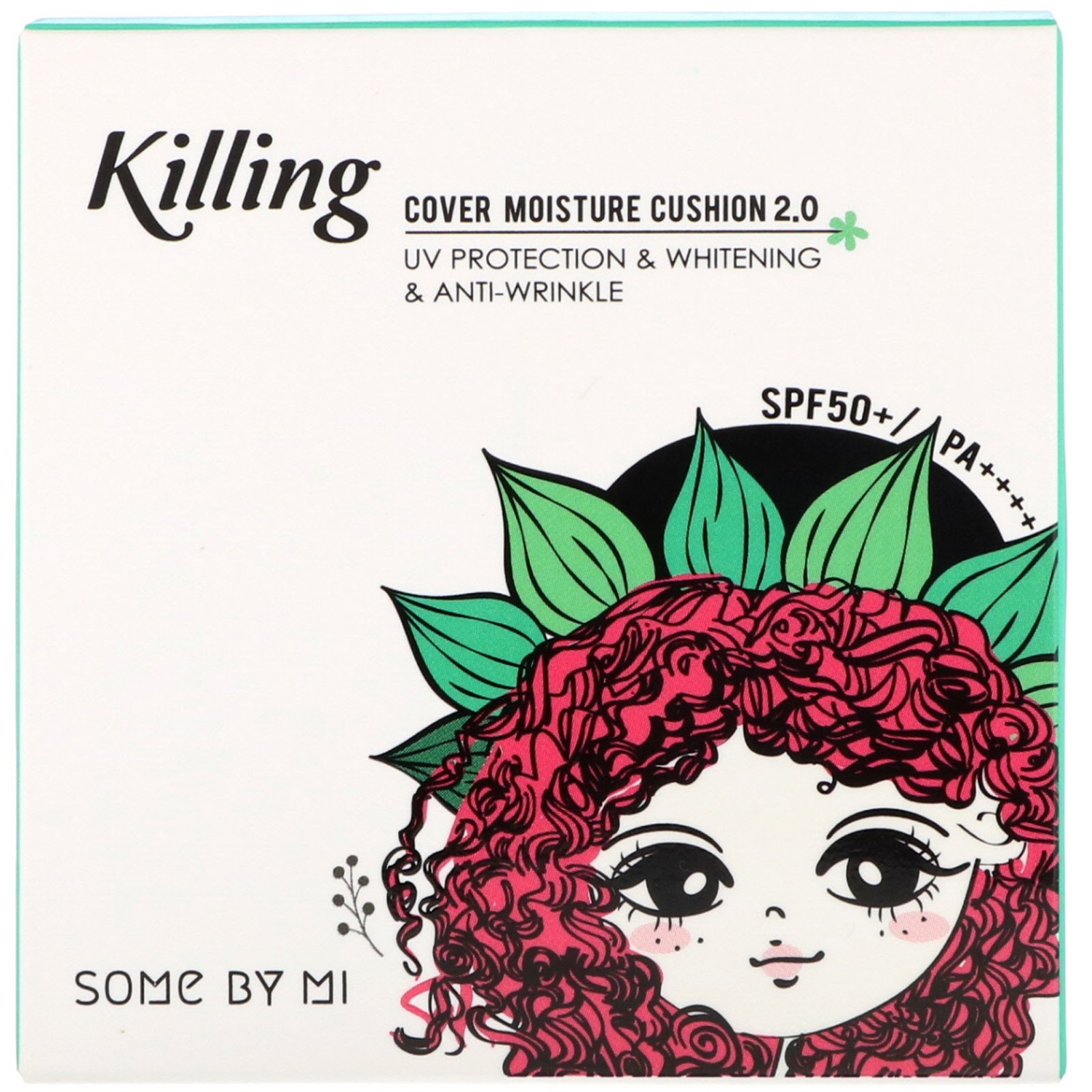 Some By Mi, Killing Cover Moisture Cushion 2.0, SPF 50+/PA++++, #