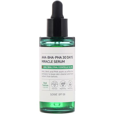 Купить Some By Mi Сыворотка с кислотами AHA, BHA и PHA, для устранения несовершенств кожи за 30дней, 50мл