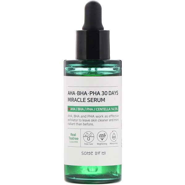 AHA, BHA, PHA  30 Days Miracle Serum, 50 ml