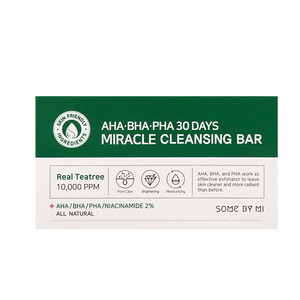 Some By Mi, AHA. BHA. PHA 30 Days Miracle Cleansing Bar, 106 g отзывы покупателей