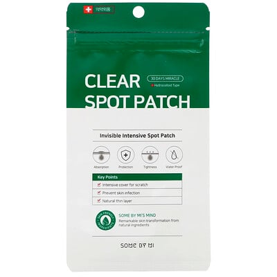 Some By Mi 30 Days Miracle Clear Spot Patch, 18 Patches